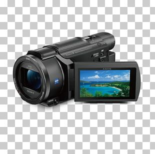 Sony Handycam FDR-AX53 Camcorder 4K Resolution Video Cameras PNG