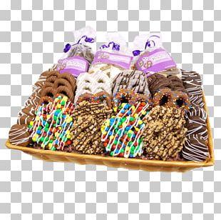 Pretzel Food Gift Baskets Chocolate Hamper PNG