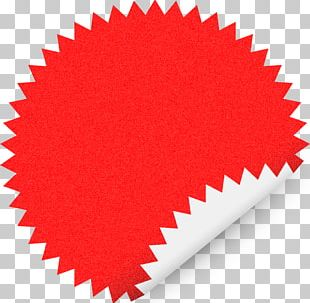 Sticker Paper Label Template PNG