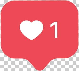 Like Button Instagram Facebook PNG