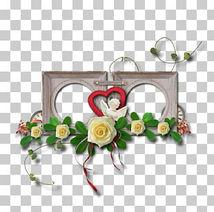 Valentine's Day Frames Flower Photography PNG
