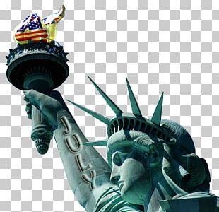 Statue Of Liberty Ellis Island Hudson River Easter Island PNG
