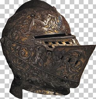 Middle Ages Helmet Armour Knight Great Helm PNG