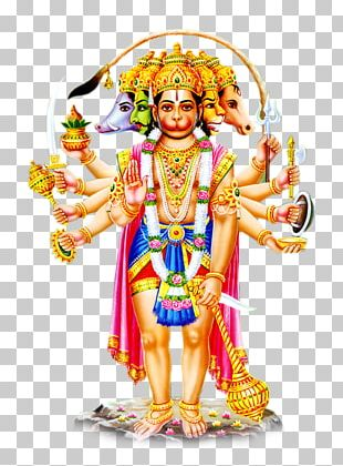 Hanuman Salasar Balaji Panchamukha Rama PNG