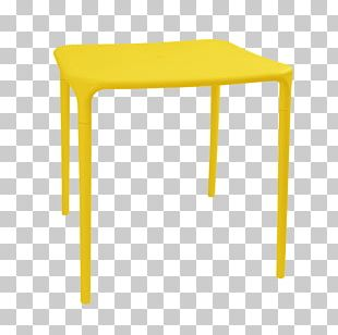 Coffee Tables Furniture Yellow Stool PNG