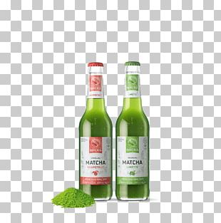 Matcha Tea Liqueur Juice Fizzy Drinks PNG
