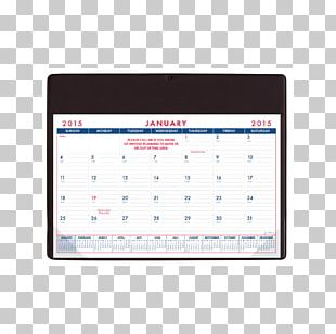 Calendar Desk Pad Paper Advertising PNG