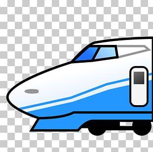 Train Emoji High-speed Rail Transport Sticker PNG
