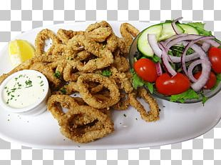 Onion Ring Squid As Food Barbecue Fast Food Fried Clams PNG