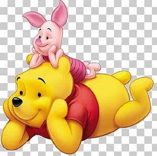 Winnie-the-Pooh Piglet Eeyore Tigger Wall Decal PNG