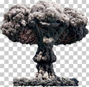 Mushroom Cloud Nuclear Explosion PNG