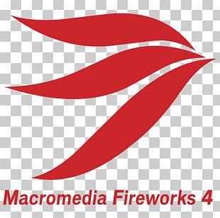 Adobe Fireworks Macromedia Line Logo PNG