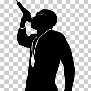 Hip Hop Music Rapper Silhouette Slow Jam PNG