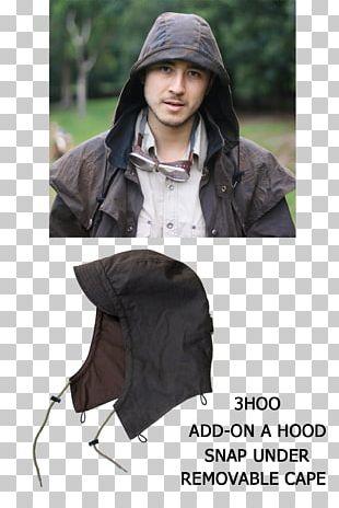 Hood Australia Coat Oilskin Jacket PNG