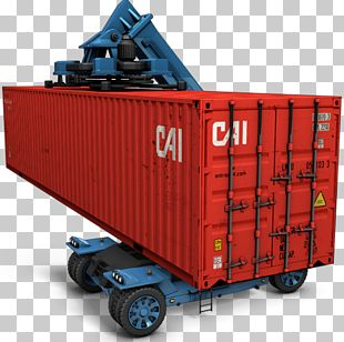 Intermodal Container ICO Logistics Icon PNG