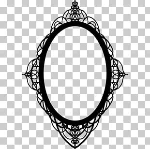 Frames Mirror Gothic Architecture Drawing Art PNG