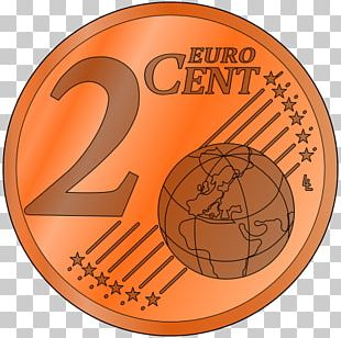 Penny 1 Cent Euro Coin 2 Cent Euro Coin PNG