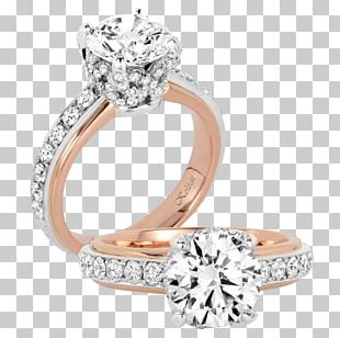 Wedding Ring Jewellery Gold Engagement Ring PNG