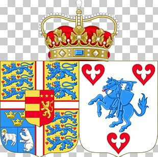 Coat Of Arms Of Denmark Danish Royal Family Crest PNG