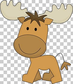 Moose Cuteness PNG