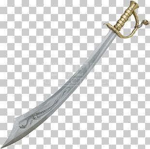 Sabre Scimitar Cutlass Classification Of Swords PNG