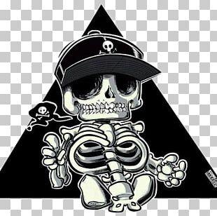 Skull Cartoon Drawing Illustration PNG