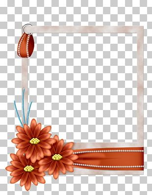 Frames Blue Borders And Frames Flower PNG