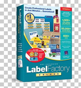 Label Printer Printing Label Factory Deluxe 3 Compact Disc PNG