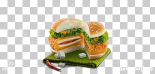 Slider Veggie Burger Fast Food Hamburger Breakfast Sandwich PNG