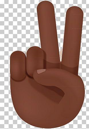 Thumb Hand Model Emoji Peace PNG