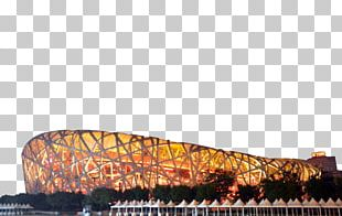Beijing National Stadium Olympic Games Architecture PNG