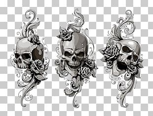 Old School (tattoo) Human Skull Symbolism PNG