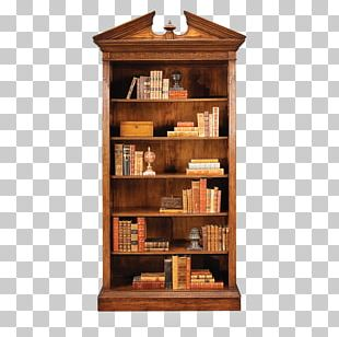 Shelf Bookcase Table Pediment Furniture PNG