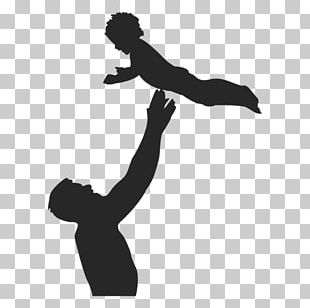 Child Father Silhouette PNG