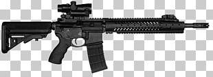 Rifle M4 Carbine Firearm Airsoft Guns Submachine Gun PNG