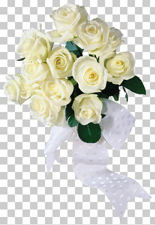 Flower Bouquet Rose White PNG