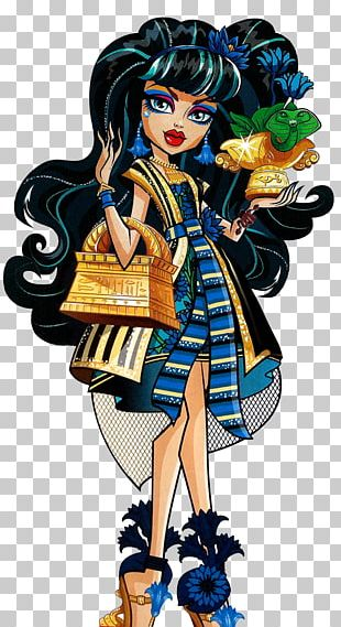 Frankie Stein Monster High Cleo De Nile Doll PNG