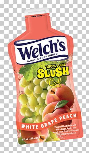 Strawberry Juice Slush Concord Grape Flavor PNG