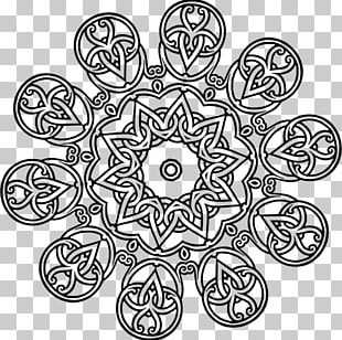 Geometry Mathematics Islamic Geometric Patterns Black And White Symmetry PNG