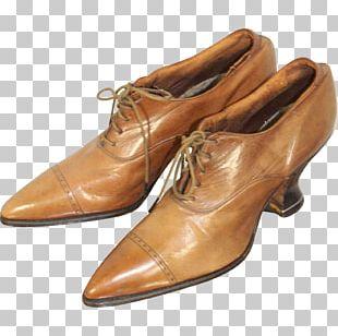 Shoe Leather Caramel Color PNG