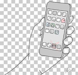 Telephony Electronics Line PNG
