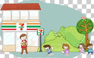 7-Eleven President Chain Store Corporation OPENちゃん Convenience Shop PNG