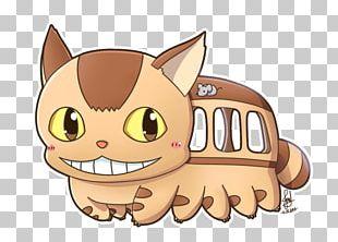 Catbus Kirara Anime Chibi Drawing PNG