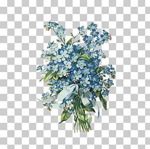 Floral Design Cut Flowers Flower Bouquet Postcard PNG