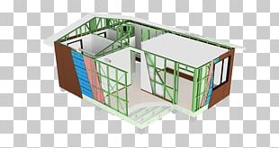 Steel Frame Construction Building Structure Project PNG