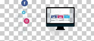 Social Media Marketing Building Brand PNG
