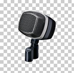 Microphone AKG D12 VR Shure SM57 Bass Drums Audio PNG