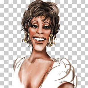 Whitney Houston Caricature Celebrity PNG