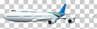 Airplane Boeing 767 PNG