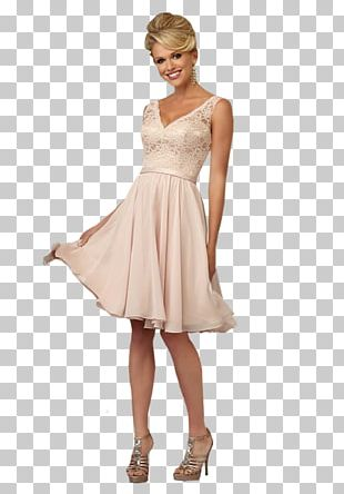 Neckline A-line Wedding Dress Bridesmaid PNG